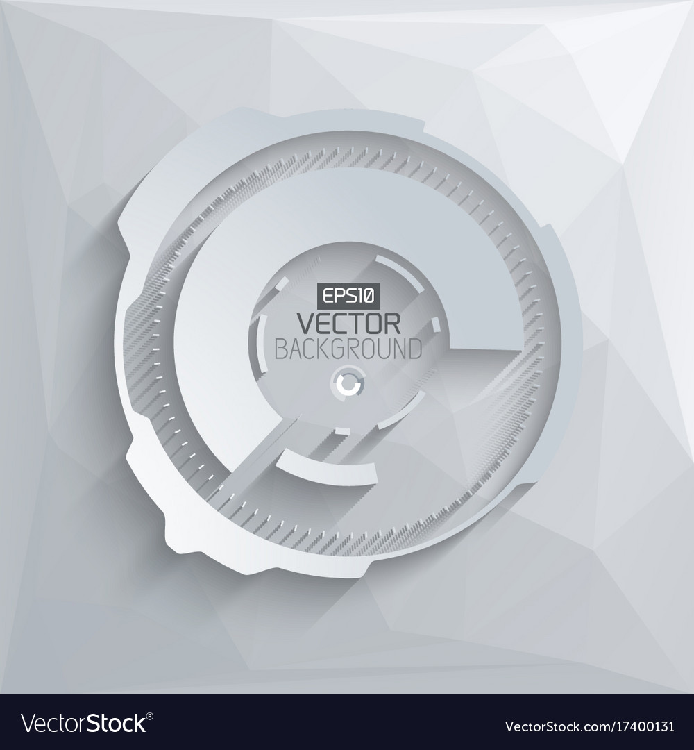 Digital futuristic template