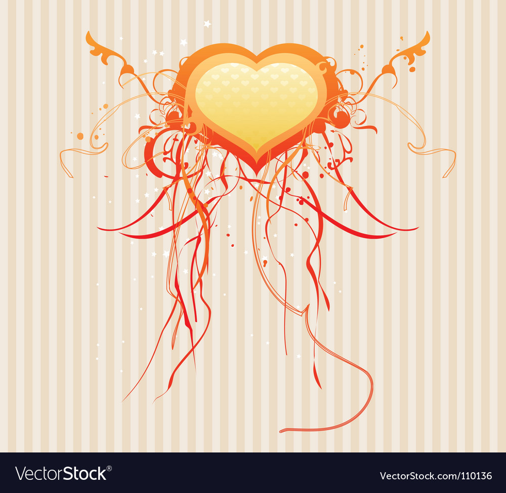 Valentines abstract background vector image