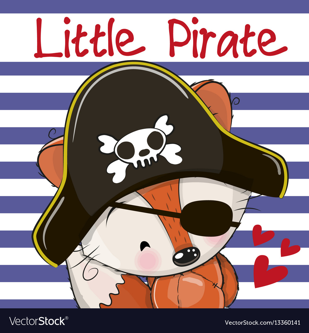 Little fox pirate