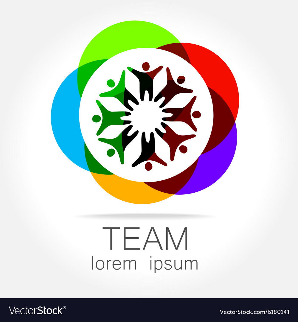 Team logo vector image