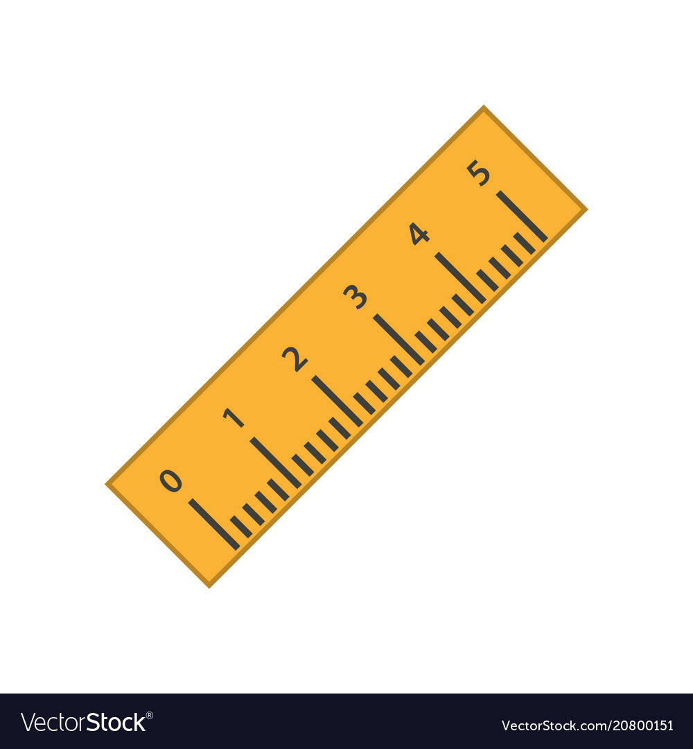 ruler icon royalty free vector image vectorstock vectorstock