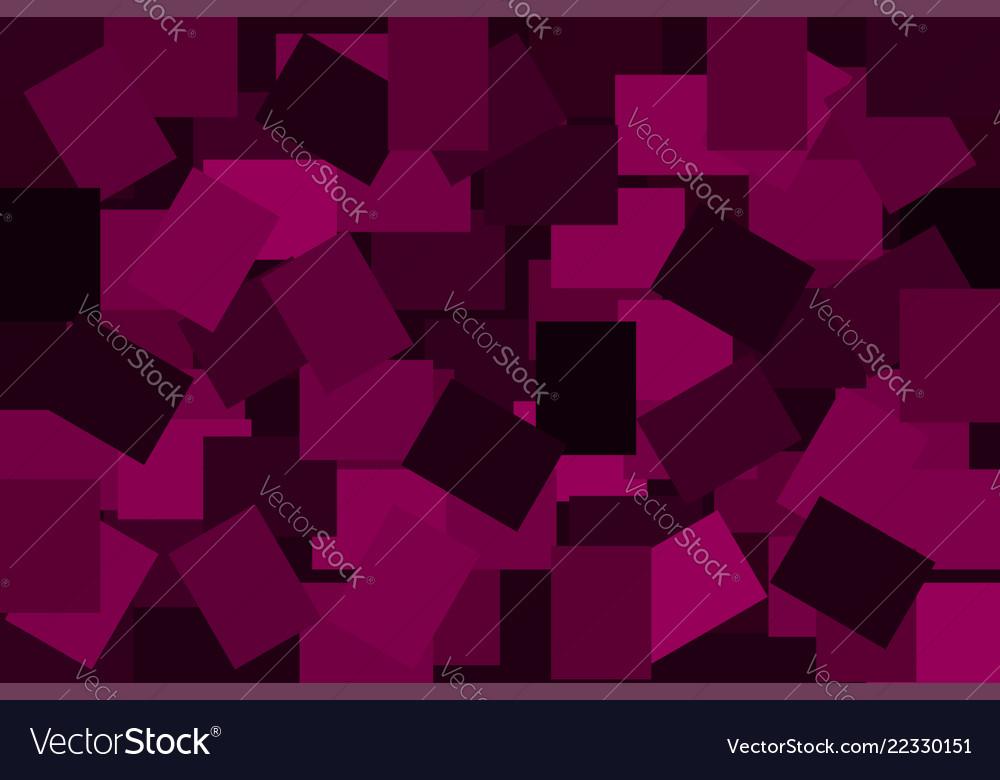 Squares - geometrical background