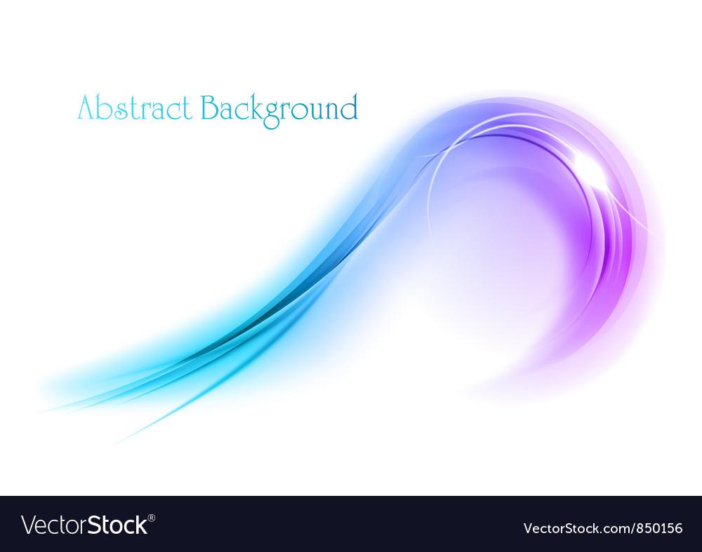 Abstract shape smoke