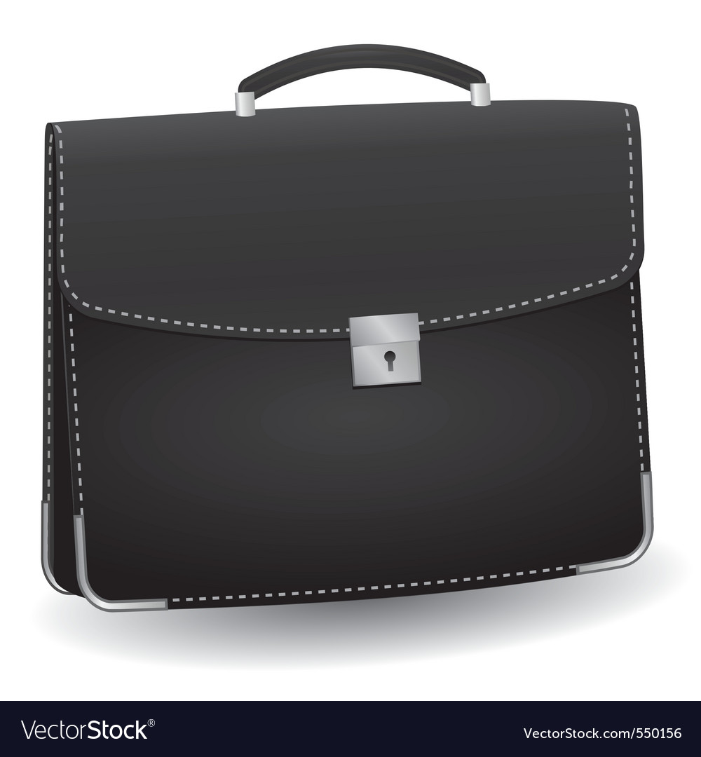Lack briefcase for the businessman vector illustra