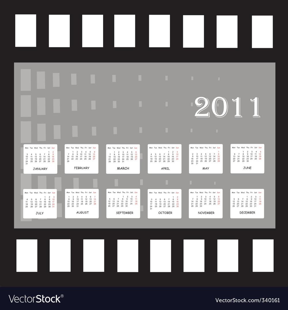 annual calendar. Annual Calendar For 2011