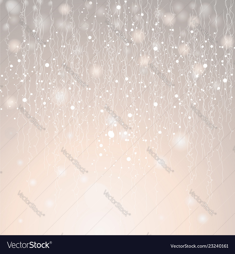 Christmas glowing lights with serpantine xmas