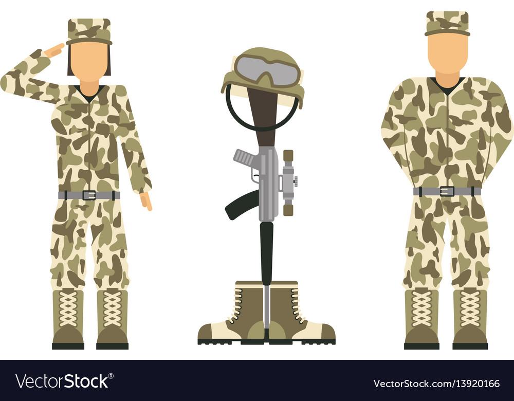 Memorial battlefield cross american honor symbol