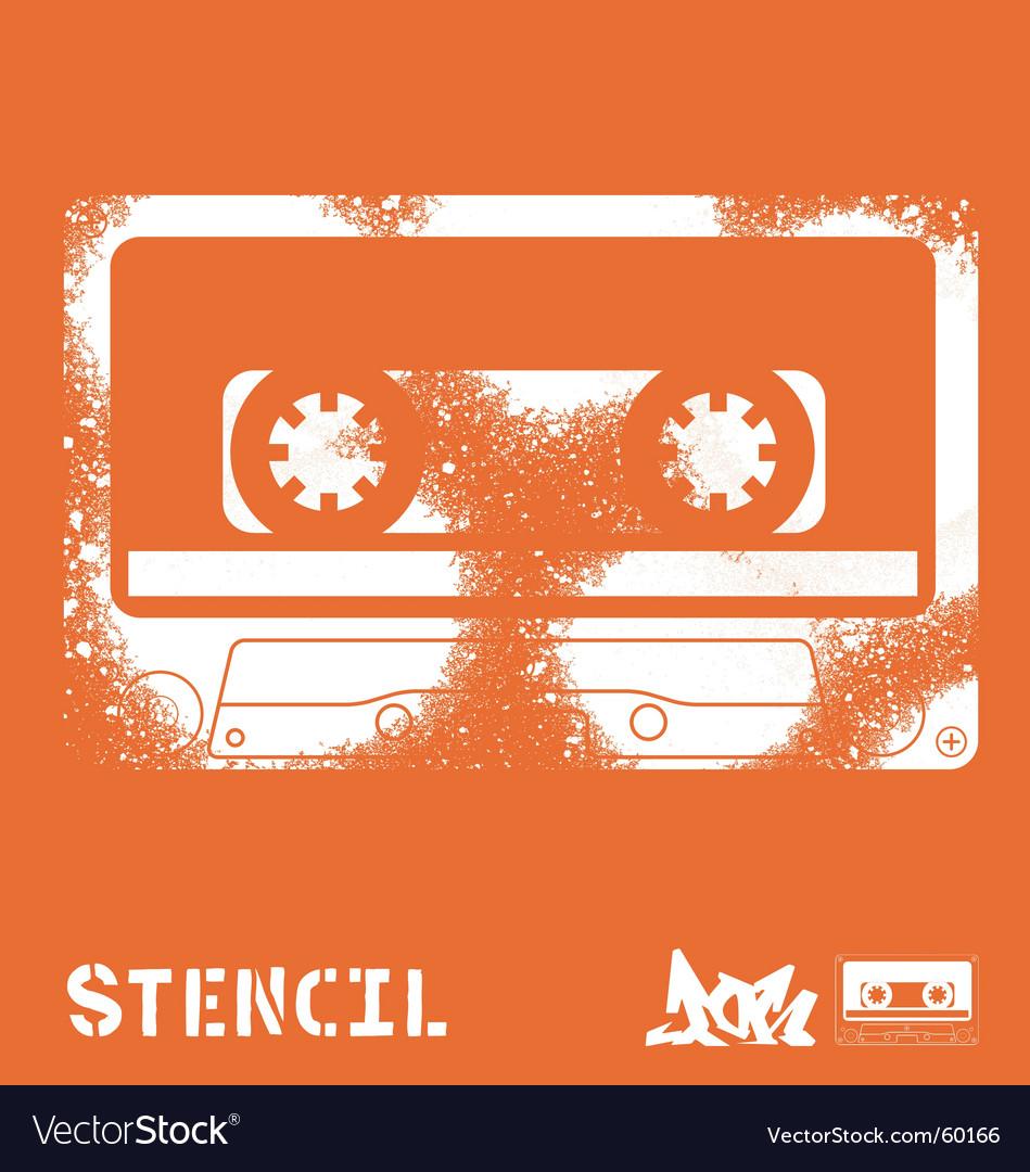 Stencil tape