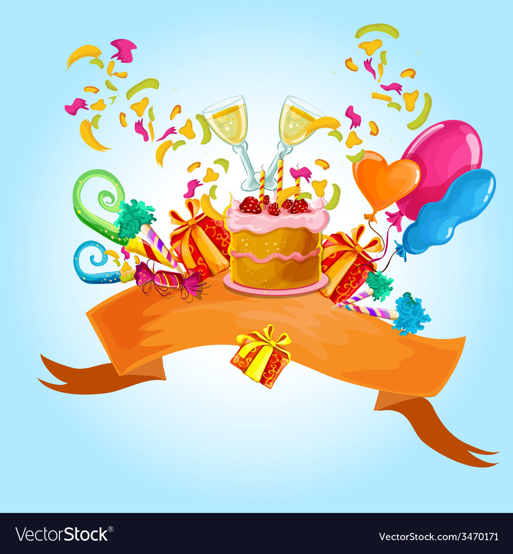 Celebration colored background