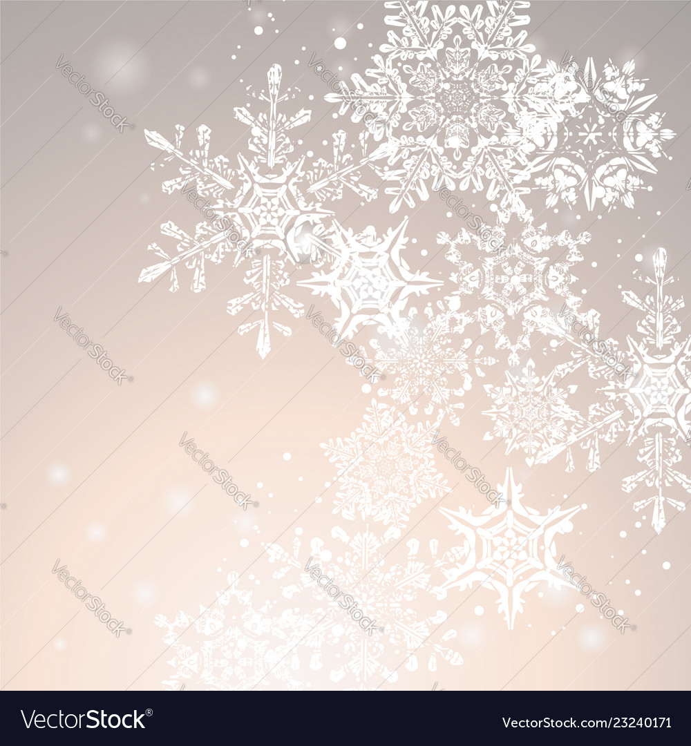 Winter abstract christmas background