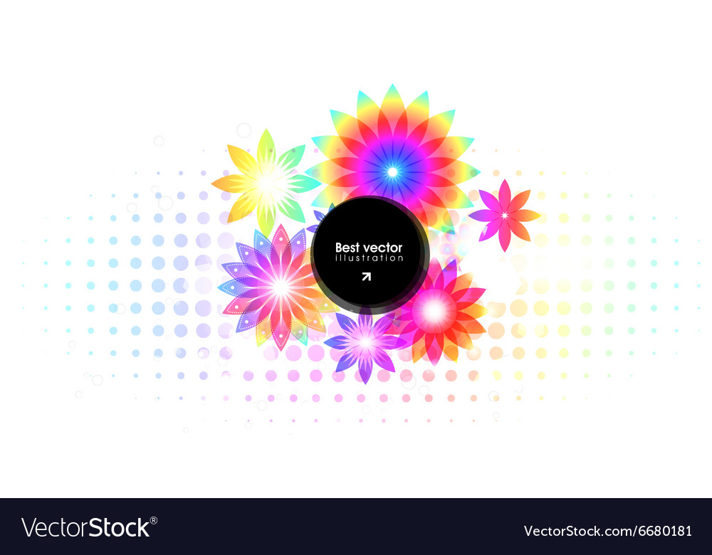 Abstract Floral Ornaments for Design