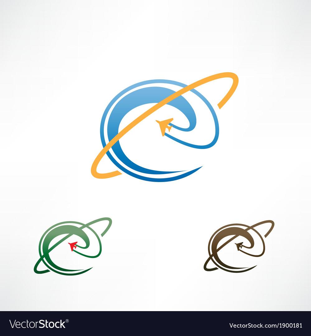 E icon vector image