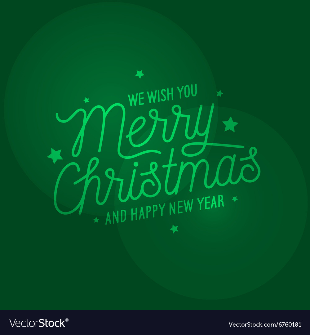Merry Christmas light green background