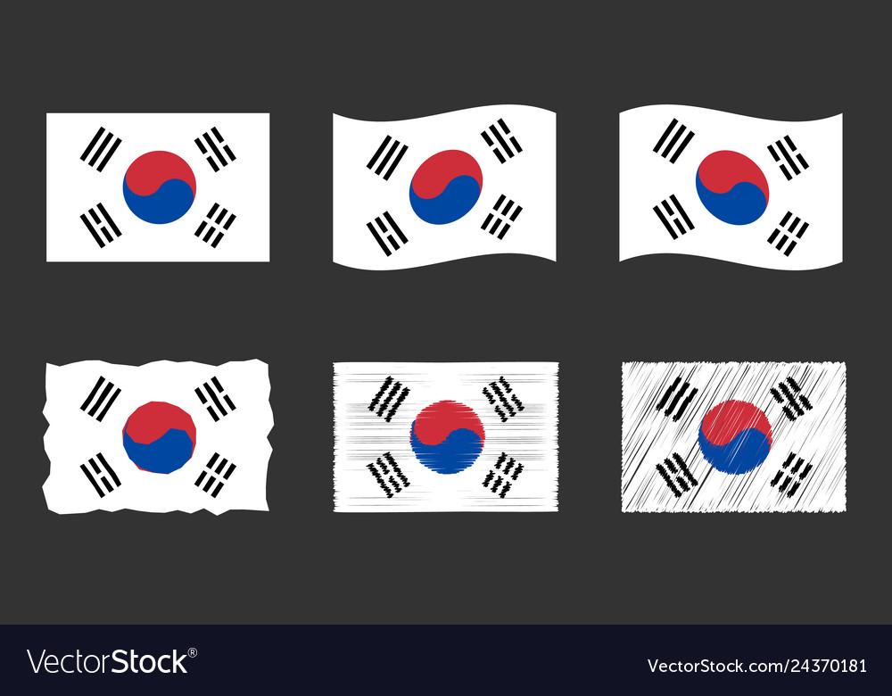 South korea flag official