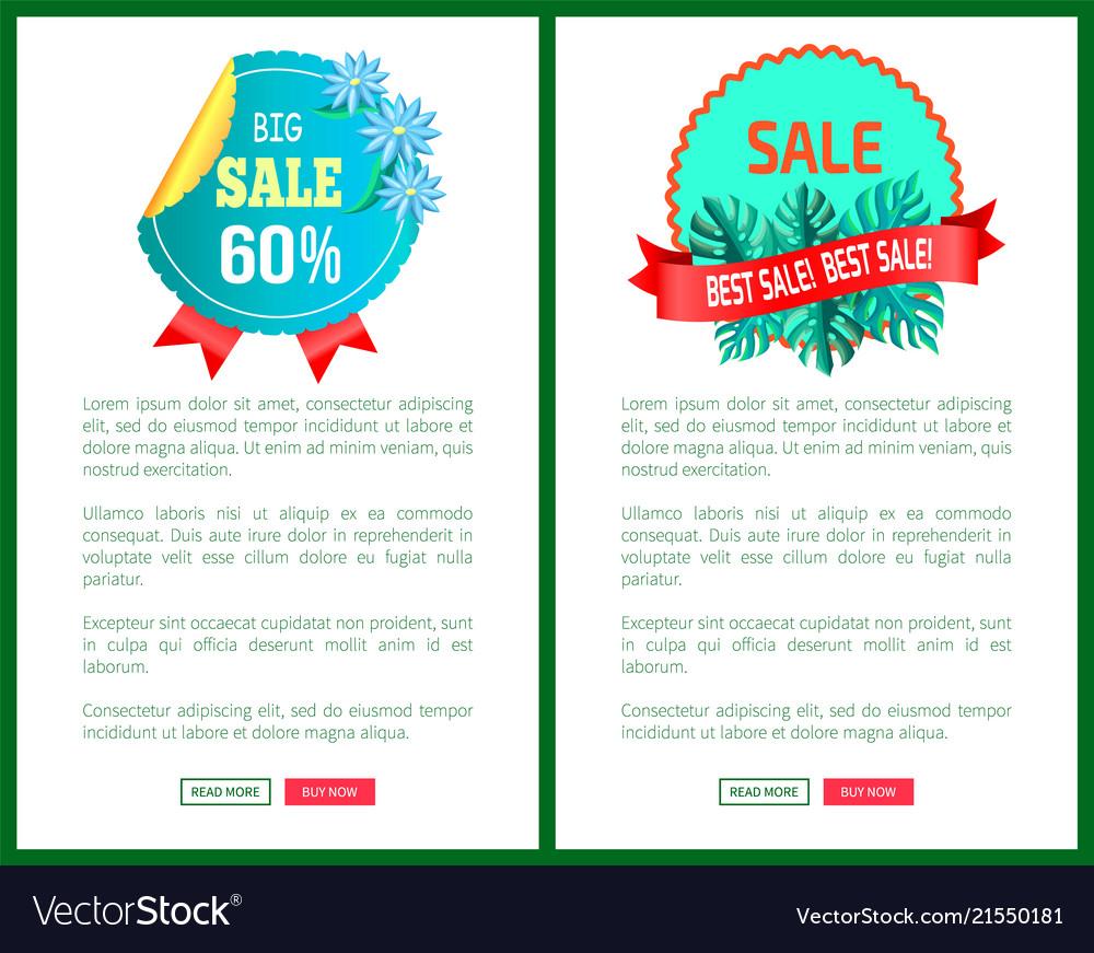 Total big sale best promo emblems palm leaves set