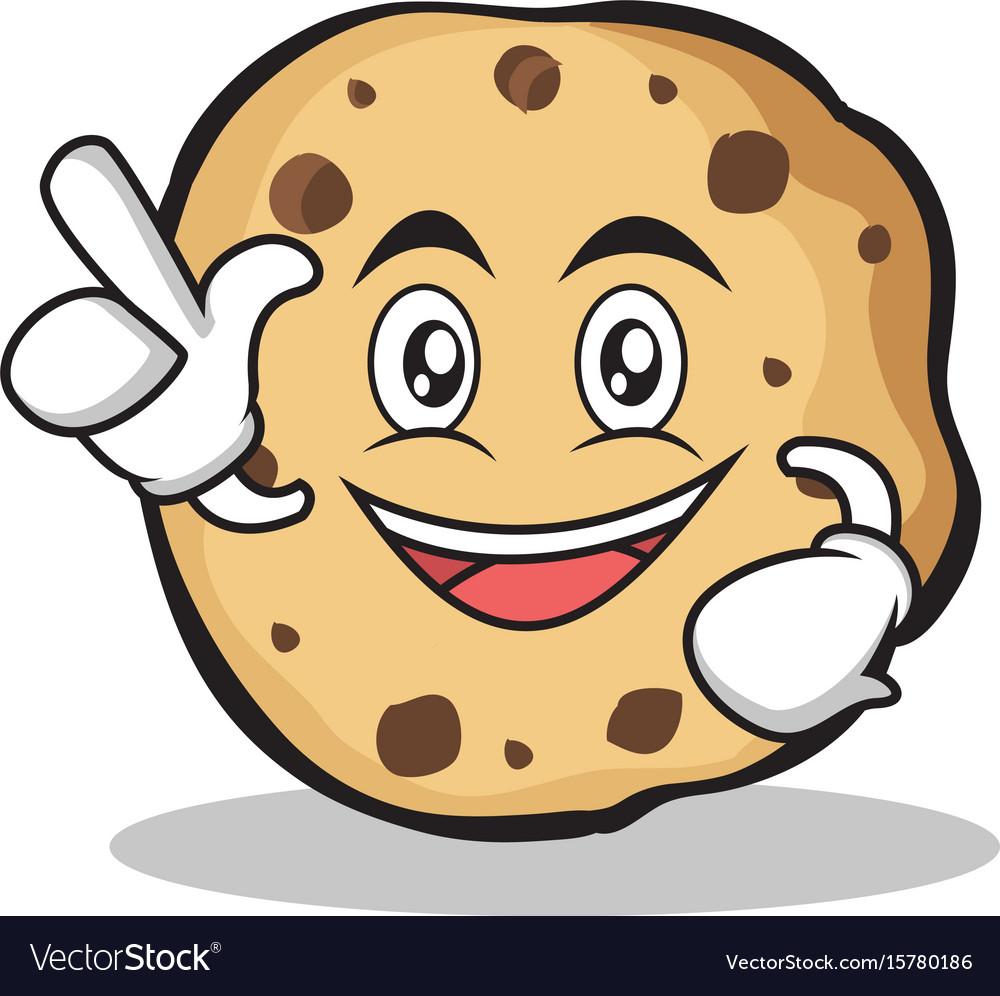 Have an idea sweet cookies character cartoon