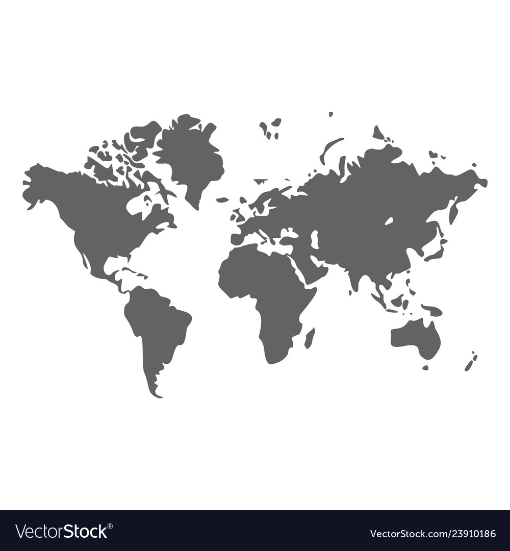 World map earth planet design geography
