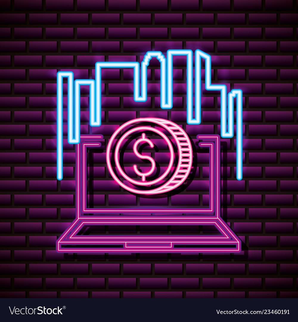 Neon video games