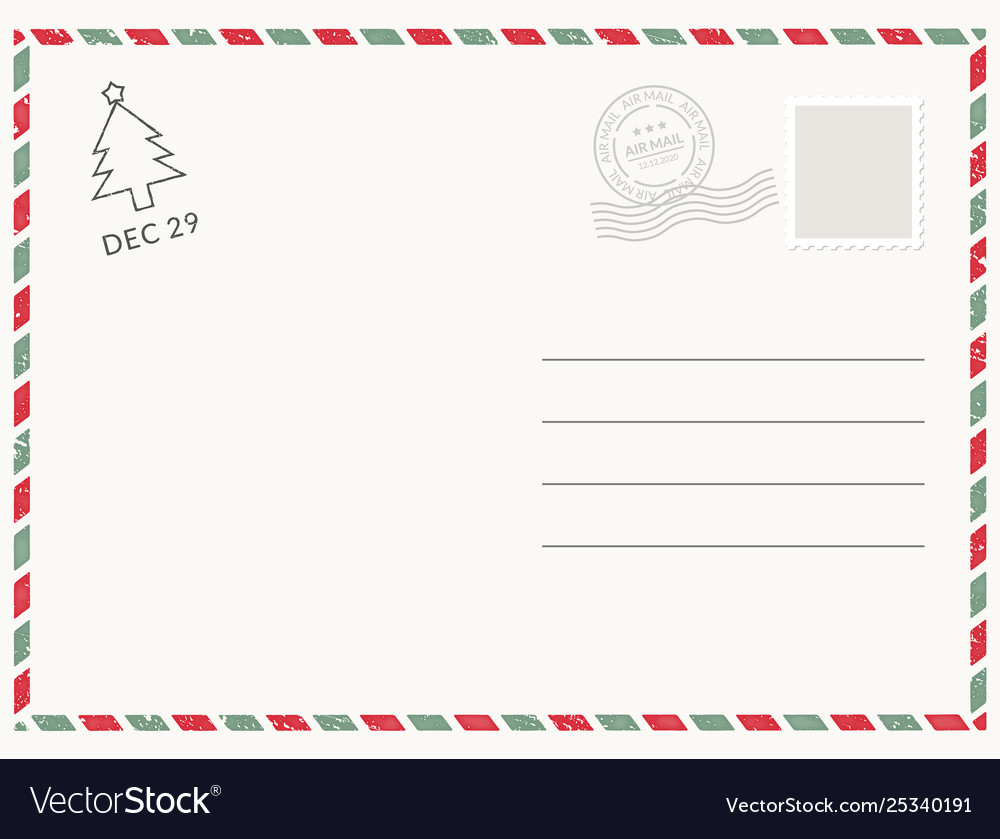 Postcard template paper white texture