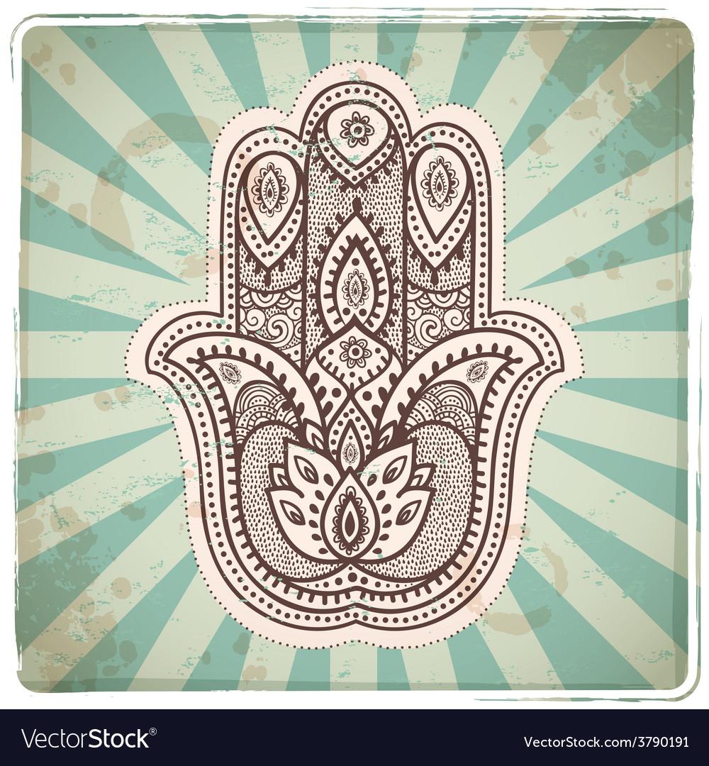 Set ornamental indian symbols