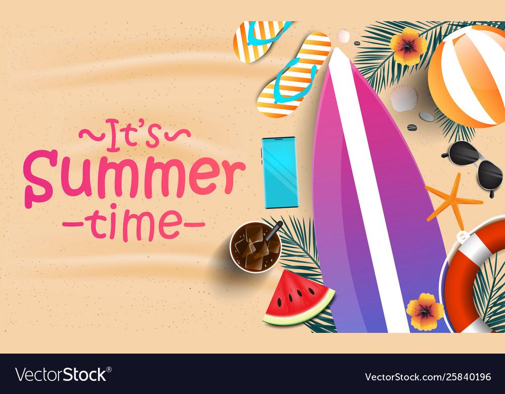 Summer background design 2019