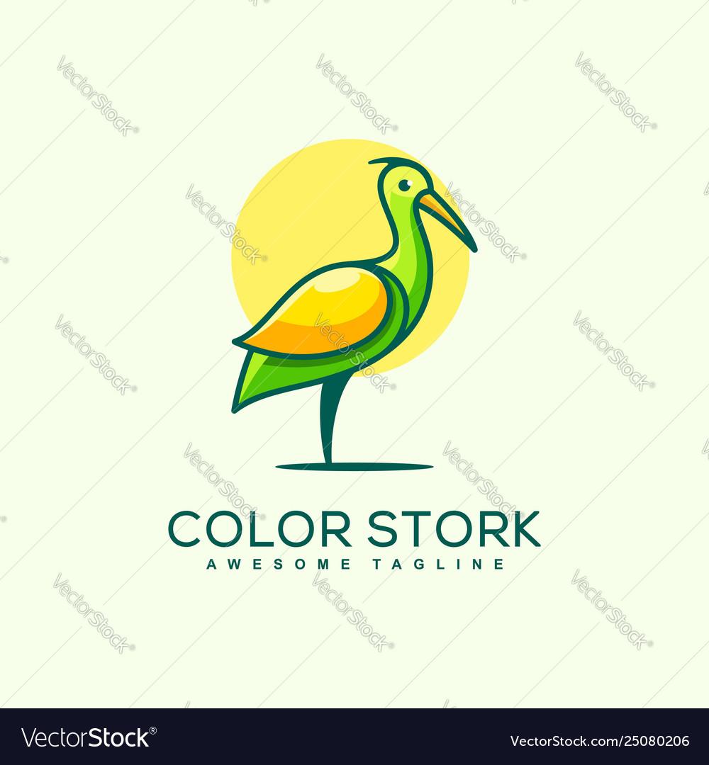 Stork concept design template