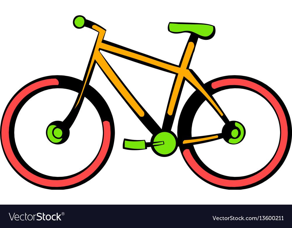 Bicycle icon icon cartoon vector image