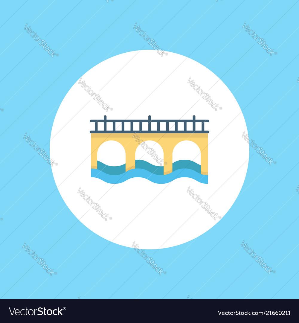Bridge icon signy symbol