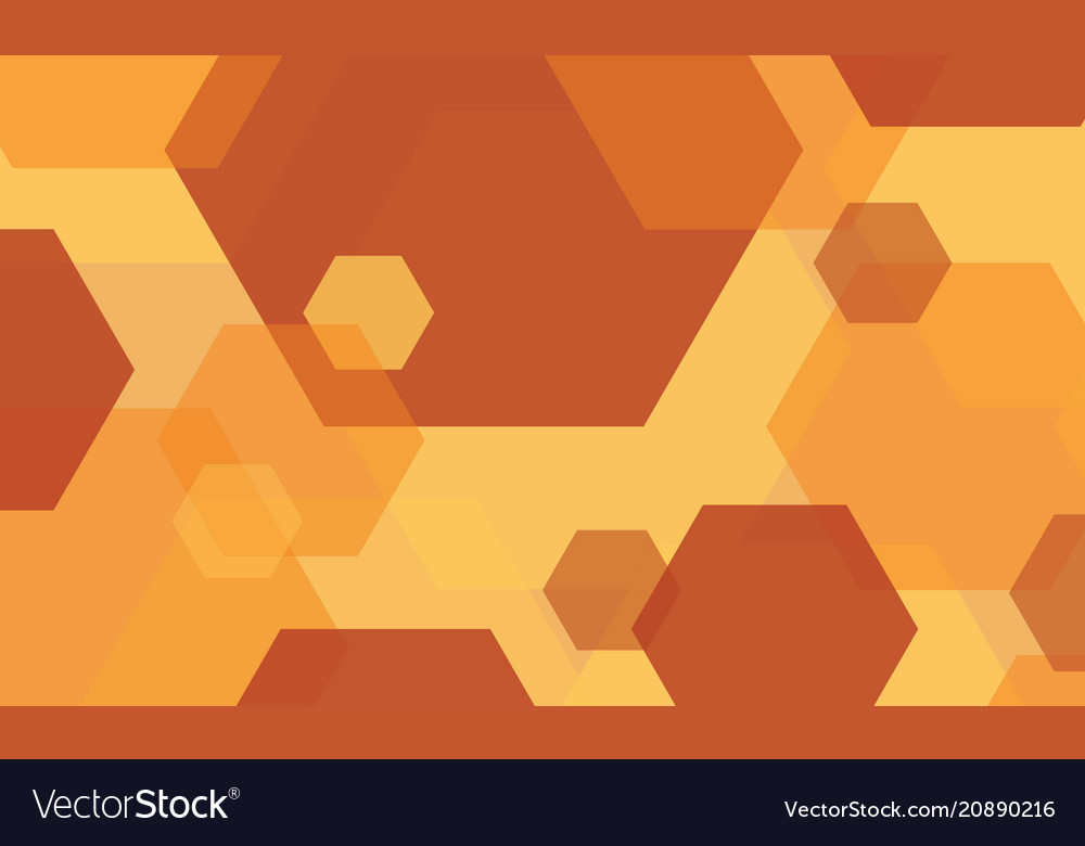 Abstract Background Orange Modern Wallpaper Vector Image