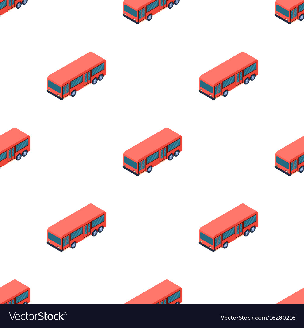 Bus icon in cartoon style isolated on white