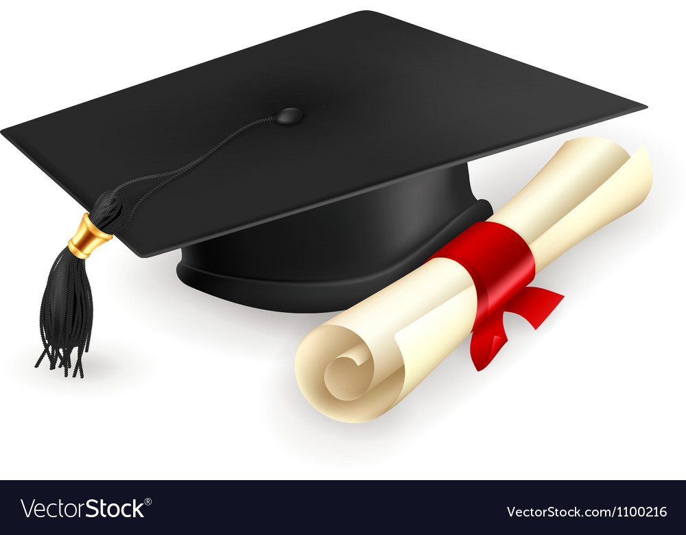 graduation cap and diploma royalty free vector image graduate clipart transparent graduation clipart pics