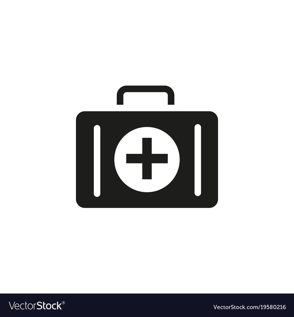 medical bag icon royalty free vector image vectorstock
