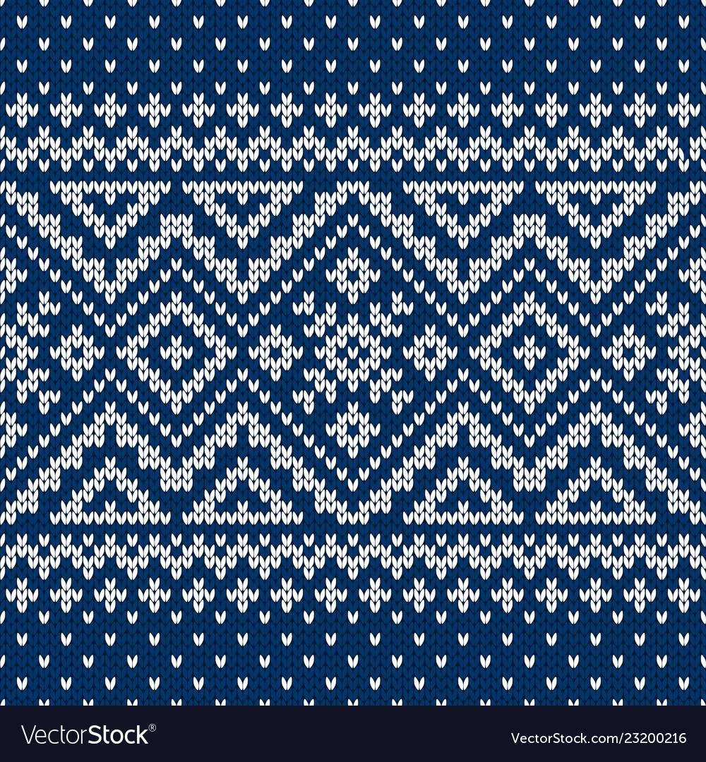 Sweater fairisle design