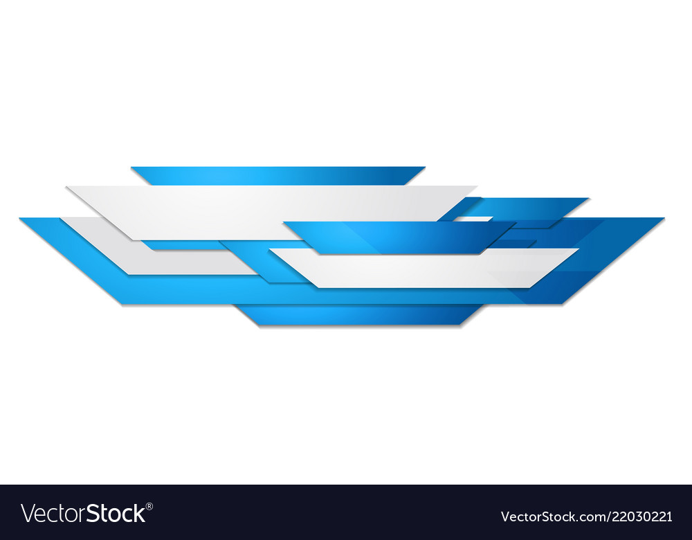 Abstract blue and white motion technology design