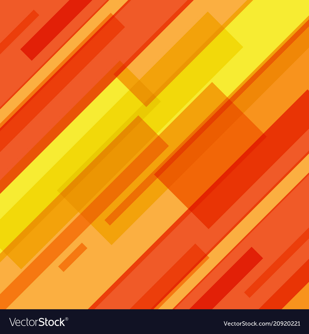 Abstract red and yellow lines technology motion