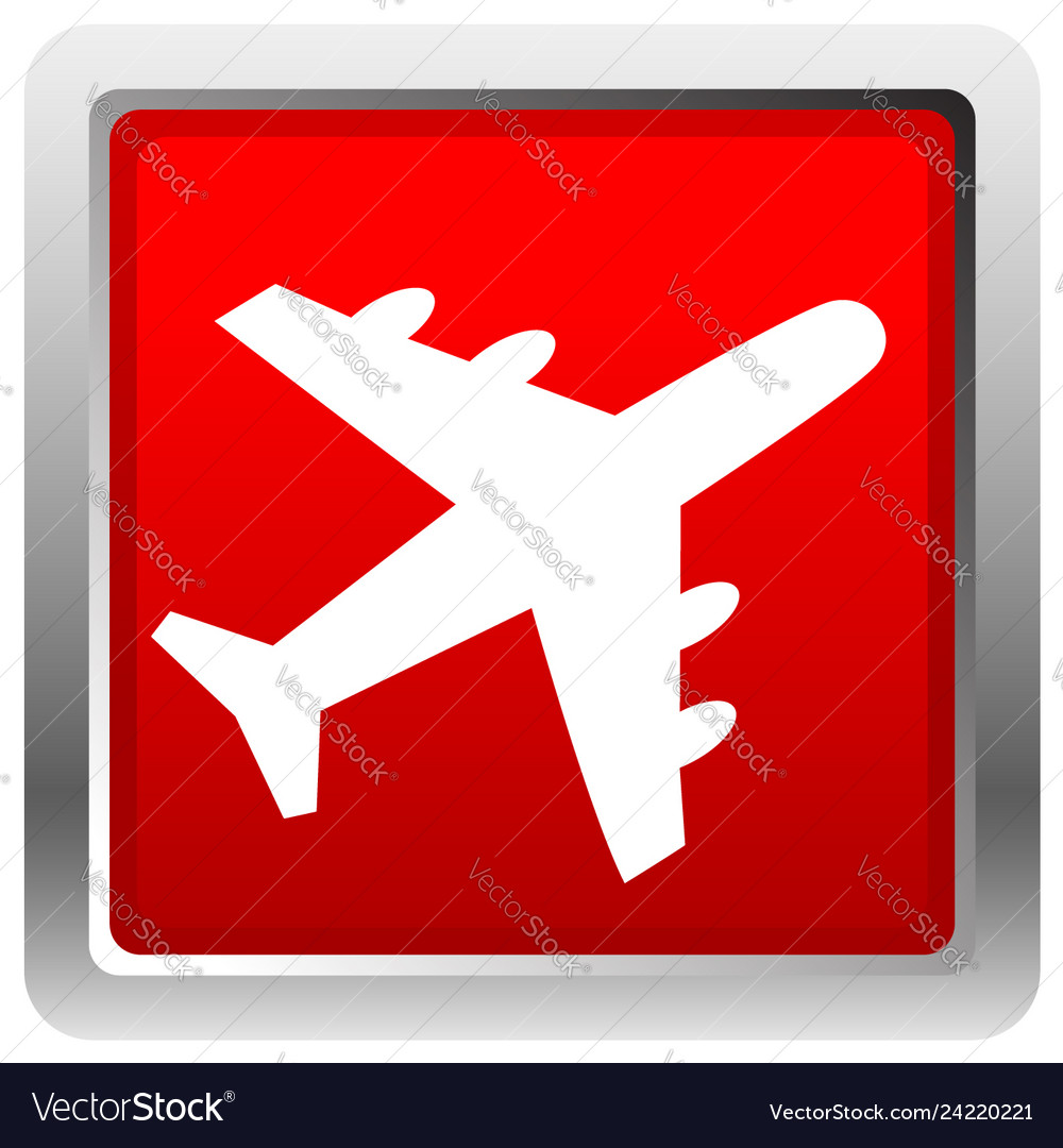 Airplane airline aircraft icon icon for flight