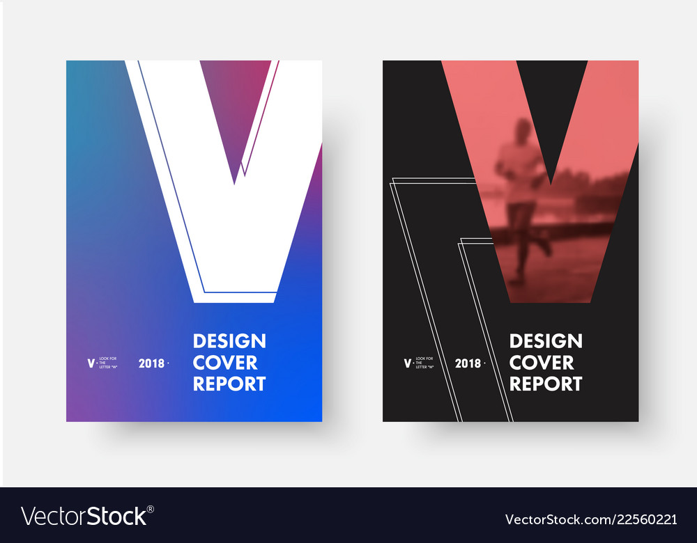 Set covers with shape letter v
