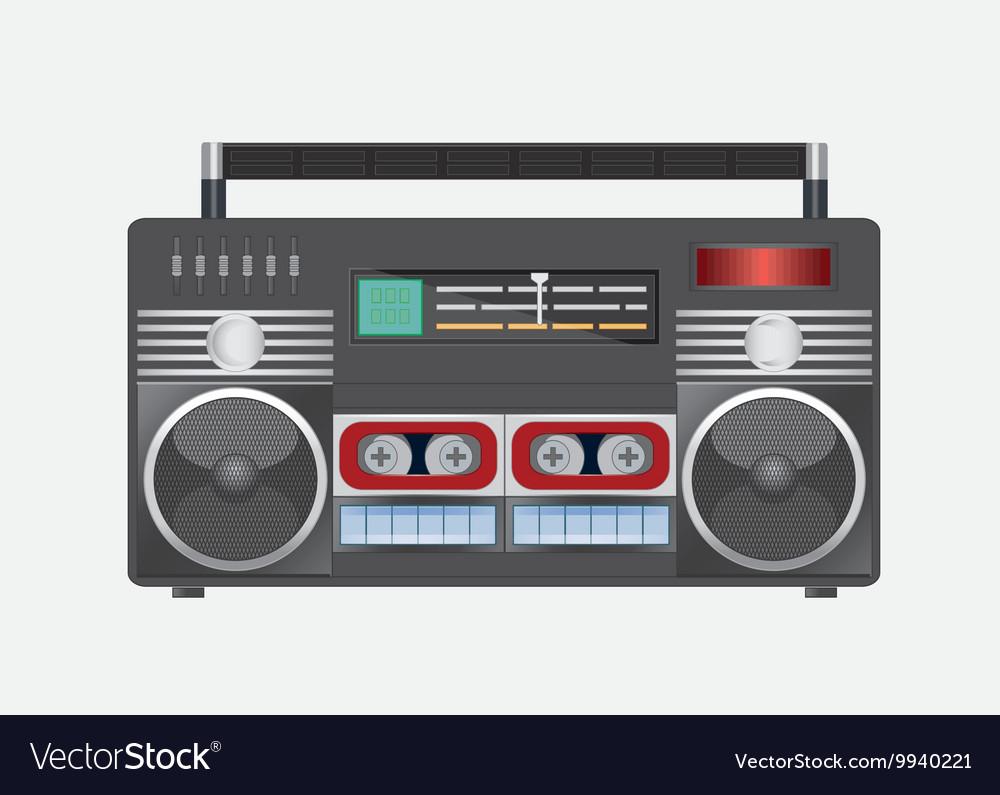 Vintage radio tape