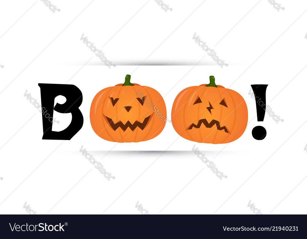 Halloween party flyer design stylized inscription