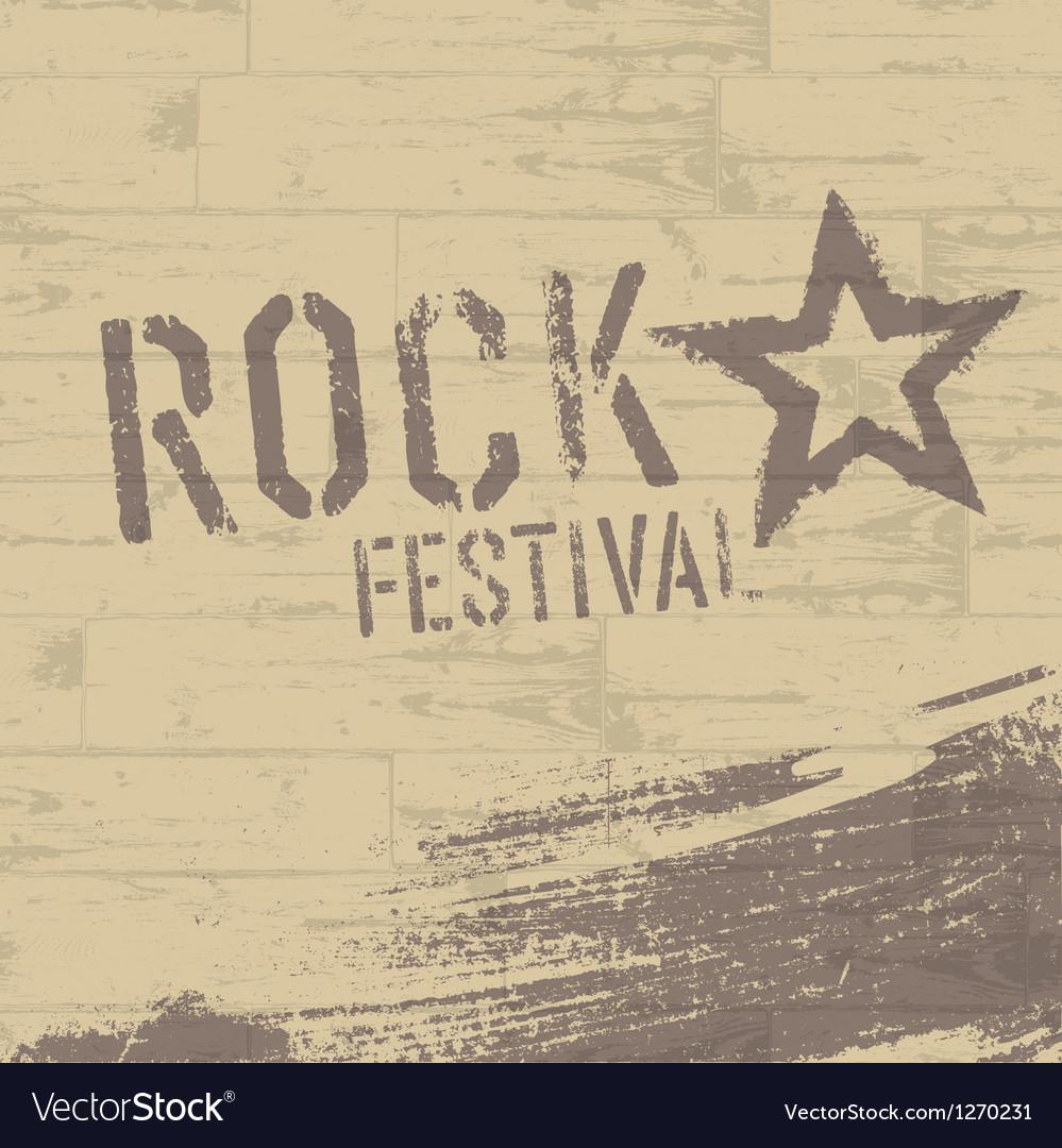 Rock Star Symbol Royalty Free Vector Image Vectorstock
