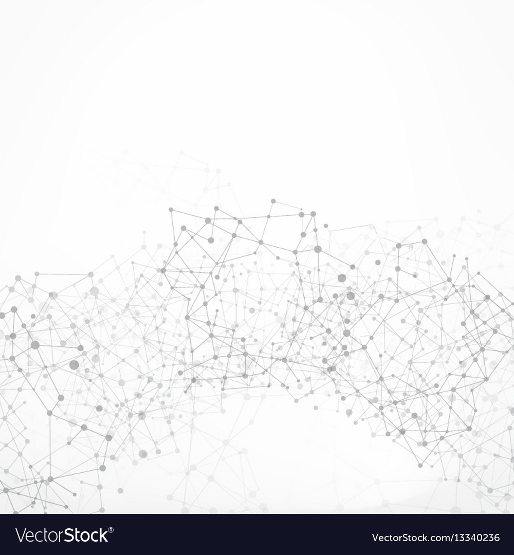 Abstract background network connect concept with