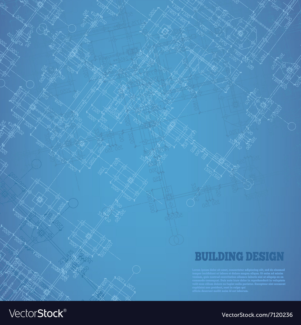 Building design background Pattern with white and