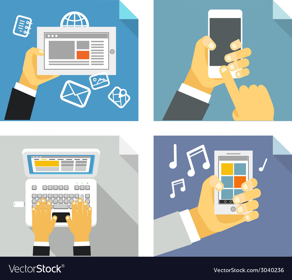 Modern technology concepts