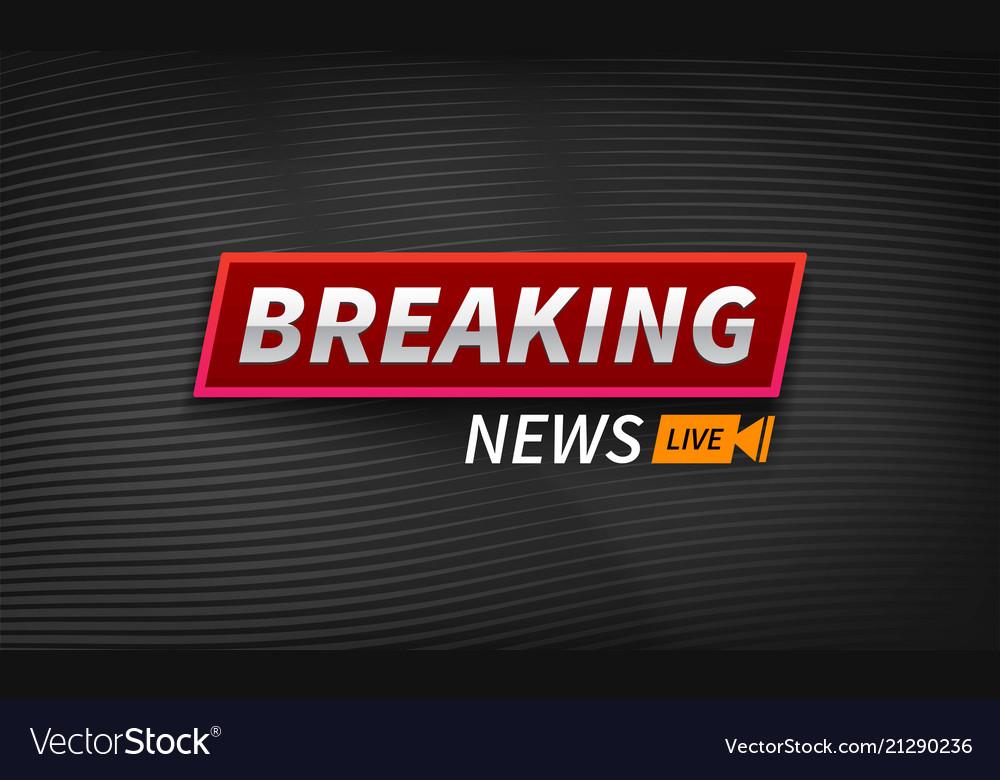 Stock logo breaking news live