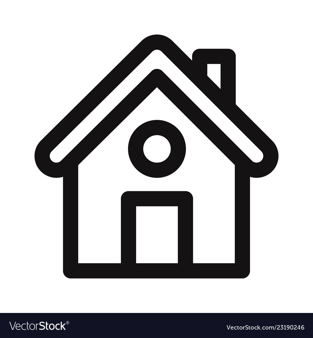 Home icon web pageui symbol
