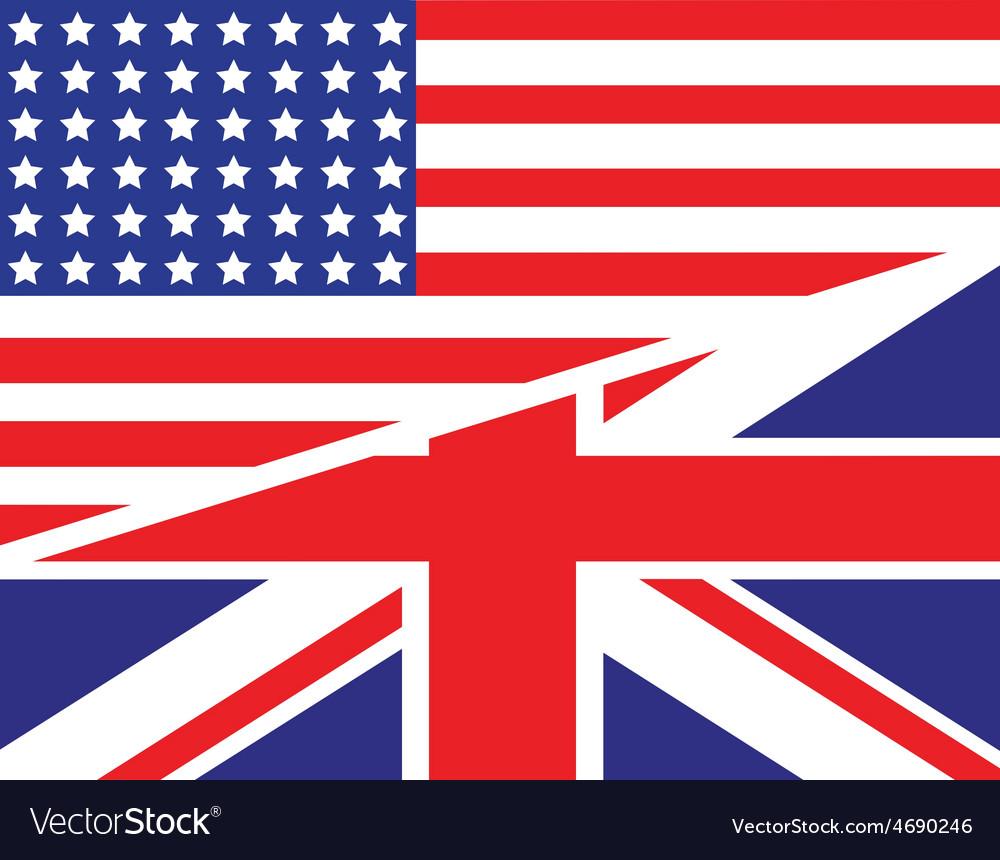 Usa uk flag unity1