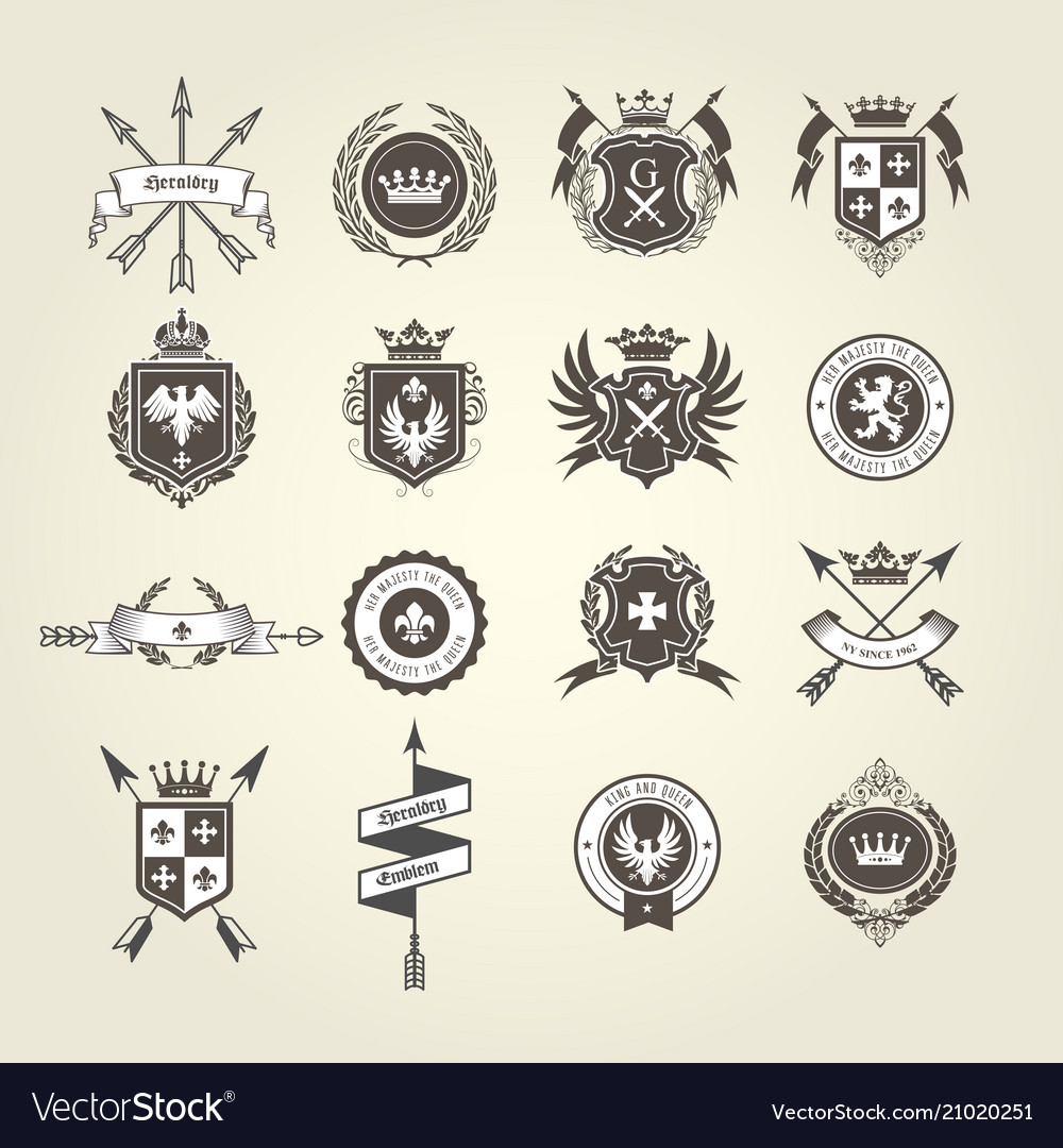 Coat of arms collection - emblems and blazons