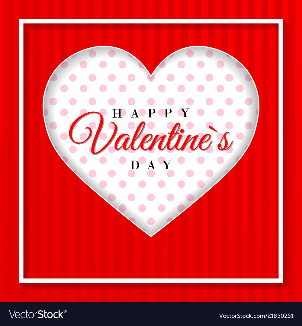 Retro valentine card with hearts greeting card