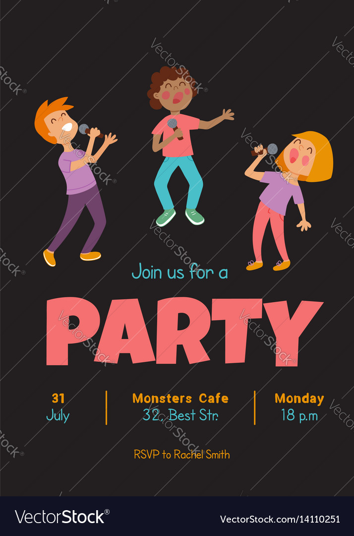 Singing party