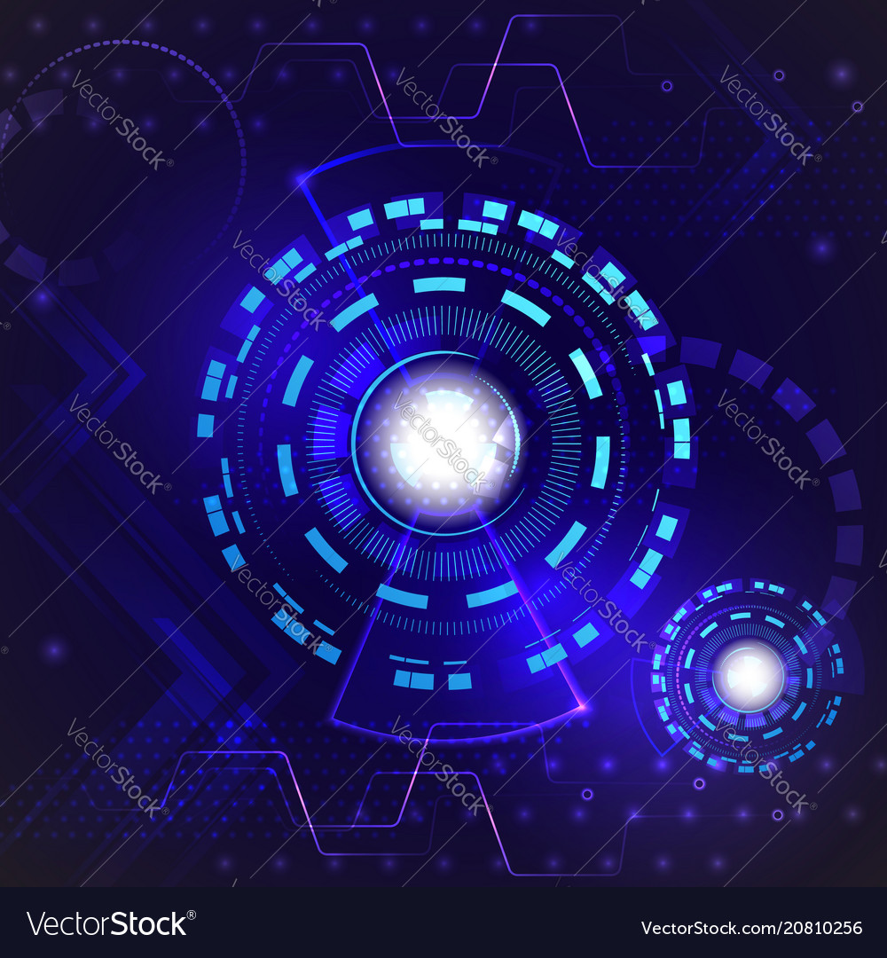 Abstract hi speed internet technology background